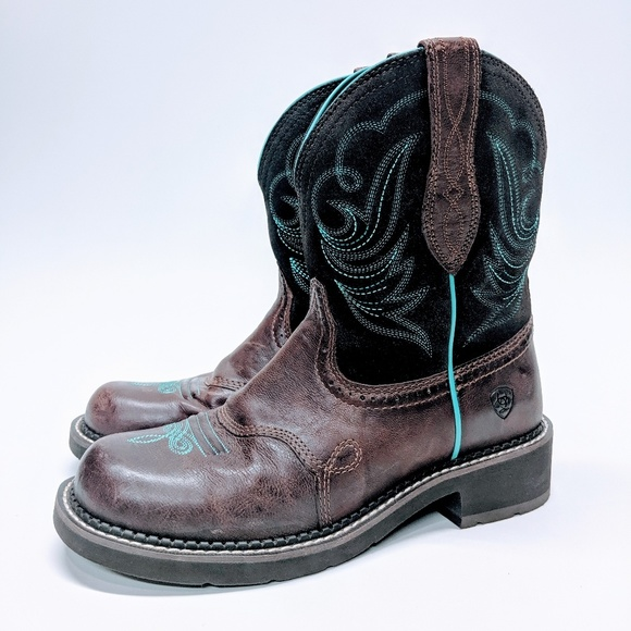 454d8963a95 Ariat Fatbaby Heritage Dapper Western Boot
